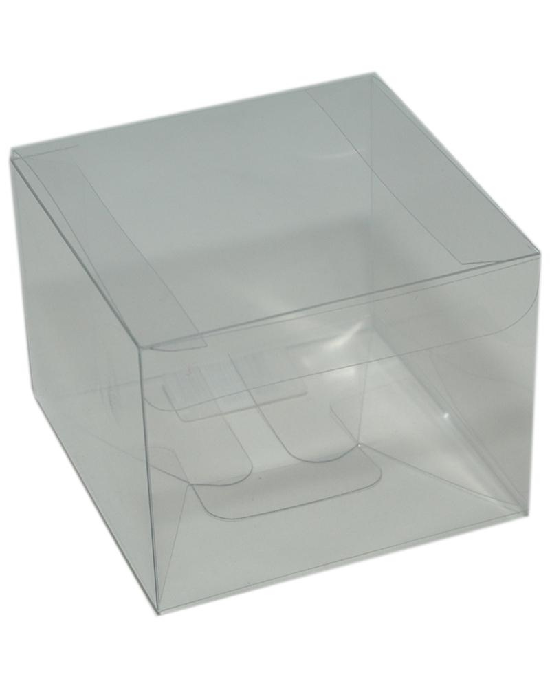 Caixa Transparente Scatto 80x80x60 - Transparente - 80x80x60mm - CX3434