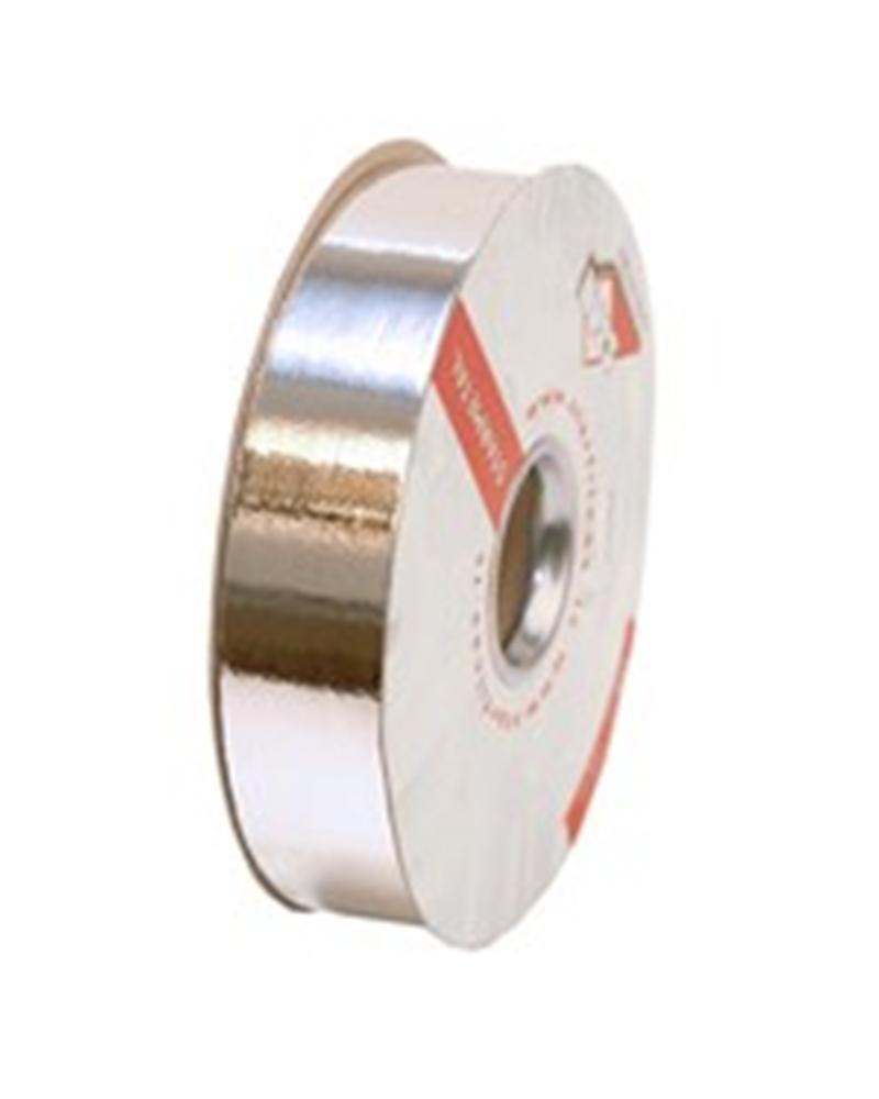Rolo Fita Metalizada Prateado 31mm - Prateado - 31mmx100mts - FT0075