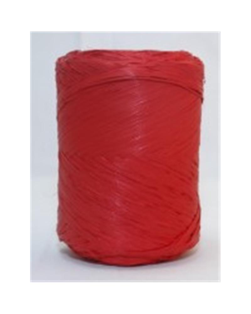 Rolo Fita Rafia Vermelho - Vermelho - 15mmx200mts - FT3304