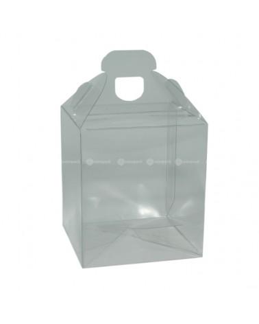 Caixa Transparente Valigetta 90x90x100 - Transparente - 90x90x100mm - CX3439