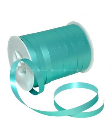 Rolo Fita Metalizada Mate Azul Turquesa 10mm - Azul Turquesa - 10mmx250mts - FT4820
