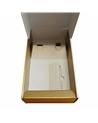 Caixa Seta Oro Cantinetta para 2 garrafas - Dourado - 340x185x90mm #1 - CX1625