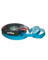 Rolo Fita Metalizada Mate Azul Sky 19mm - Azul - 19mmx100mts - FT4823