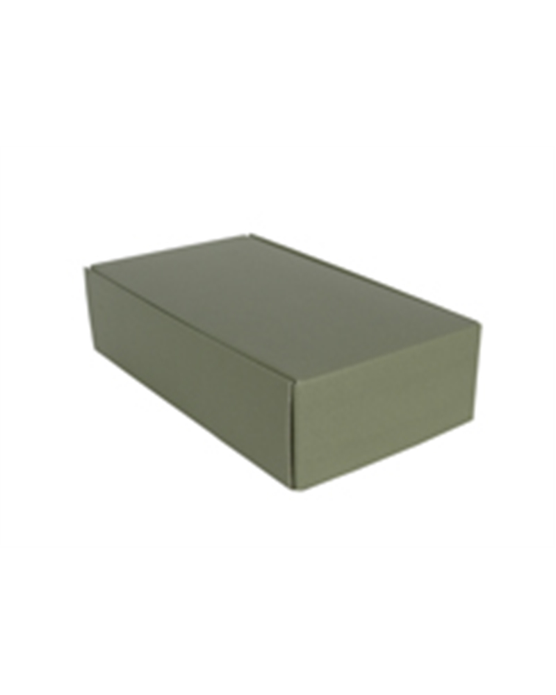 Caixa Linea Verde Cantinetta para 2 Garrafas - Verde - 340x185x90mm - CX3467