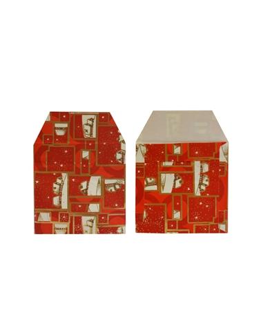 Saco C/ Pala Sortido C/ Motivos De Natal - Vários - 13x13cm - SC1693