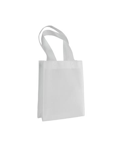 Saco em TNT c/Alças Branco - Branco - 20+08x25 - SC3229