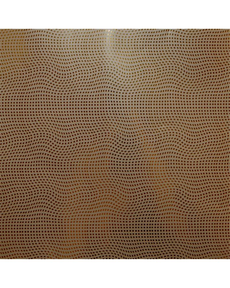 Papel Reflex Dourado c/Quadrados Dourados - Dourado - 70x100cm - PP2823