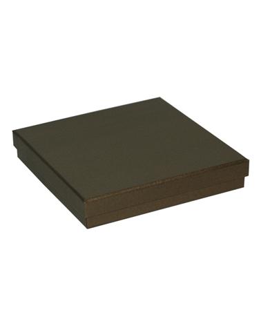 Caixa Linha Ambar p/ Colar - Dourado - 16x16x3cm - EO0693