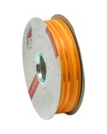 """Fita Metalizada """"Righe"""" Laranja com Riscas 31mm 100mts - Laranja - 31mmx100mts - FT3900"""