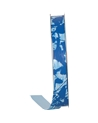 Rolo Fita Seda Fantasia Pollock Azul 19mmx100mts - Azul - 19mmx100mts - FT5003