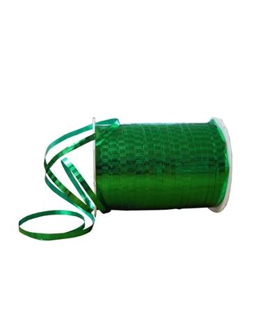 "Fita Metalizada ""Malaga"" Verde 5mm 250mts - Verde - 5mmx250mts - FT1127"