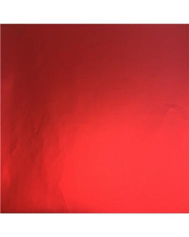 Papel Metalizado Vermelho Mate - Vermelho - 70x100cm - PP1964
