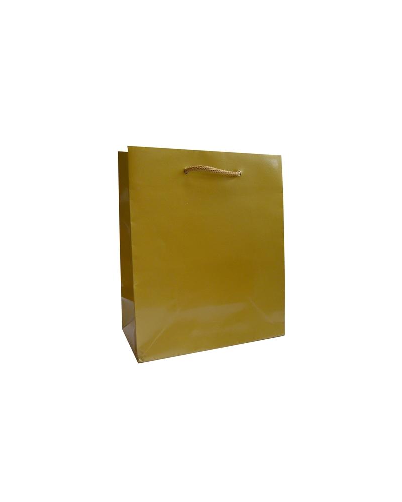 Saco Asa Cordão Gofrado Dourado - Dourado - 16+08x19 - SC3265