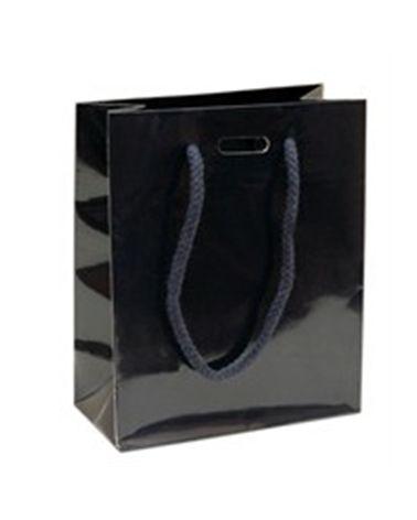 Saco Asa Cordão Azul com Corte para Fita - Azul - 14+07x17 - SC1138
