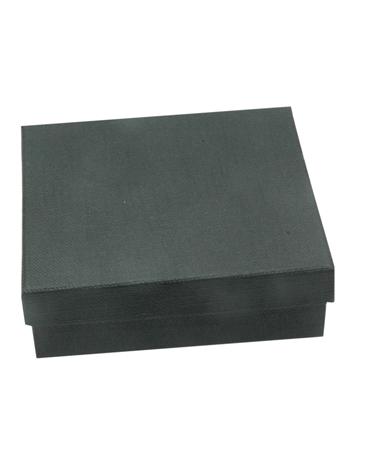 Caixa Linha Black Stripes p/ Pendentes - Preto - 8x8x2.5cm - EO0638