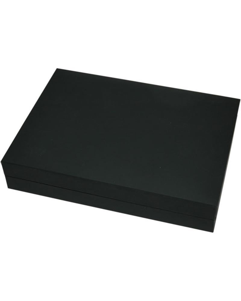 Caixa Linha LX Black Mate p/ Colar - Preto - 15.9x11.4x3.5cm - EO0657