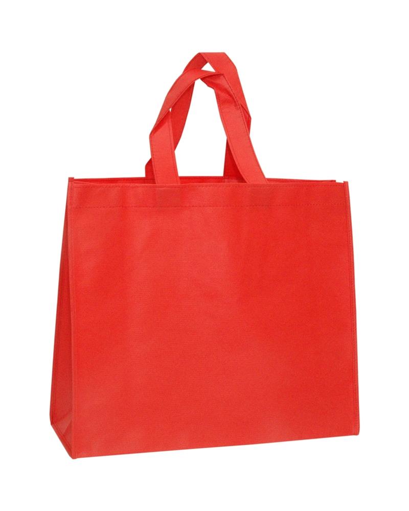 Saco em TNT c/Alças Vermelho - Vermelho - 41+15x35 - SC3240
