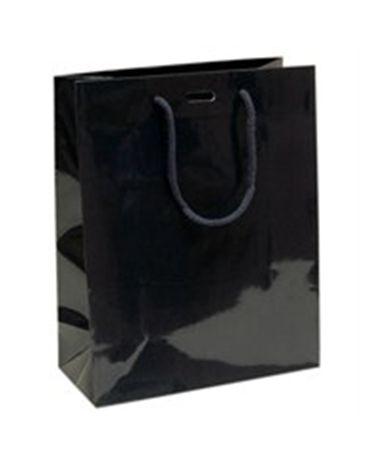 Saco Asa Cordão Azul com Corte para Fita - Azul - 22+10x27.5 - SC1326