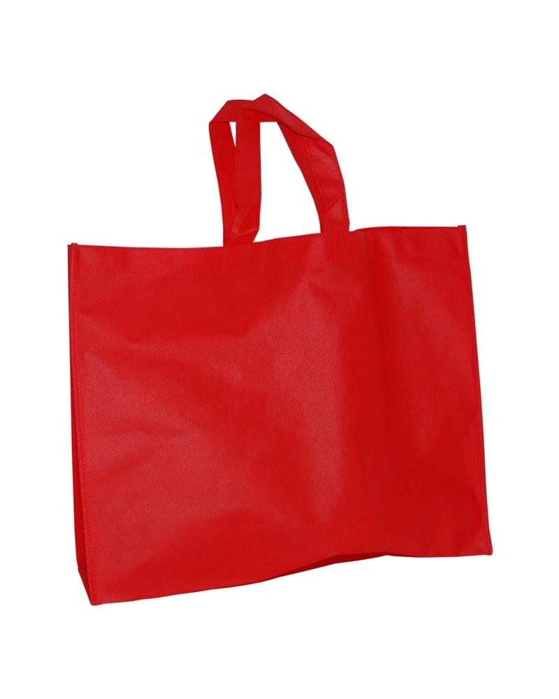Saco em TNT c/Alças Vermelho - Vermelho - 50+15x40 - SC3249