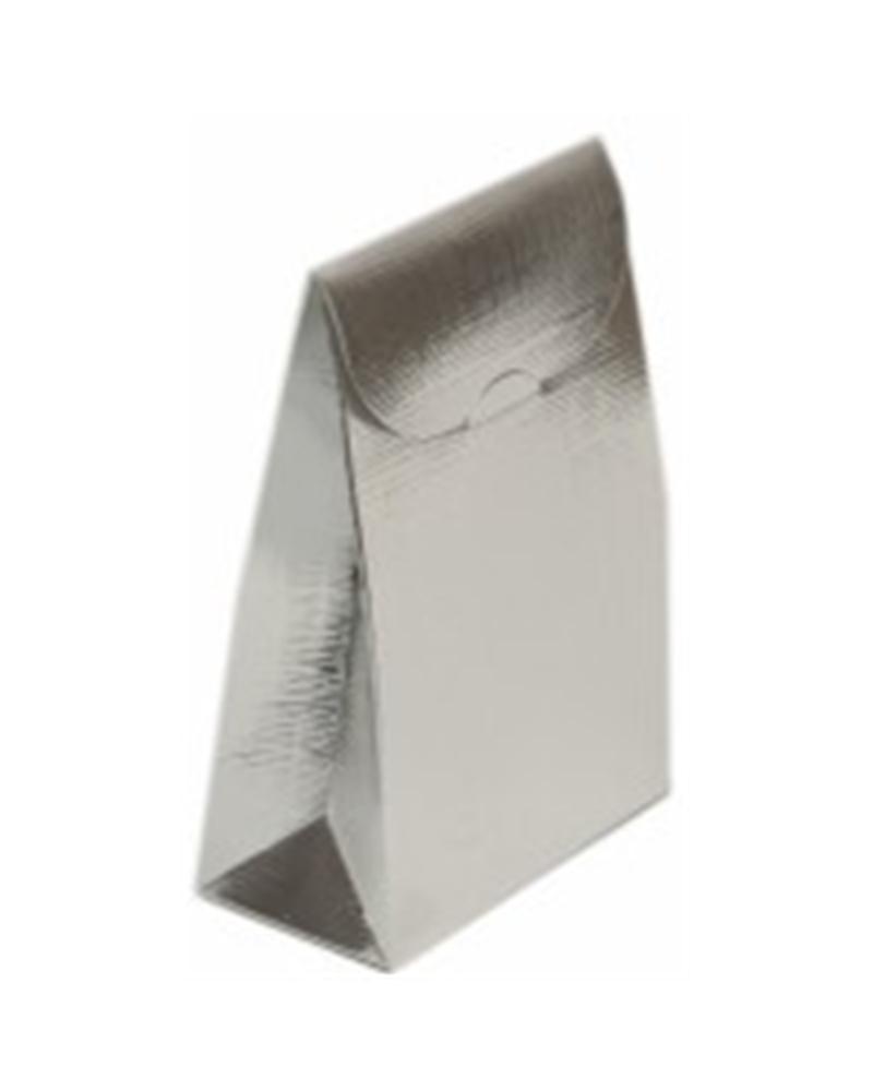Caixa Seta Argento Sacchetto PO - Prateado - 90x45x130mm - CX2500