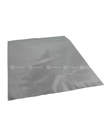 Saco c/ Pala Metalizado Fundo Prateado - Prateado - 35x50 - SC3094