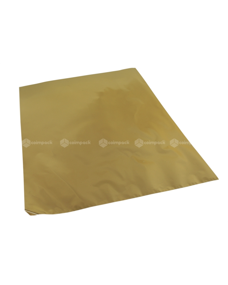 Saco c/ Pala Metalizado Fundo Dourado - Dourado - 35x50 - SC3098
