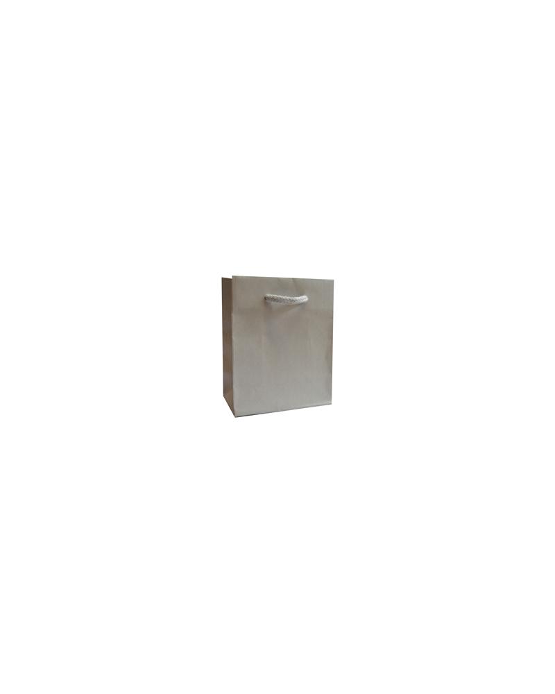 Saco Asa Cordão Linha 925 Silver - Prateado - 11.5+6.5x14 - SC3372