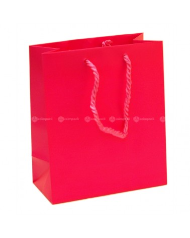 Saco Asa Cordão Shopping Fuxia - Fuxia - 16+08x19 - SC3056