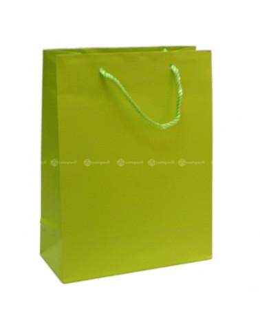 Saco Asa Cordão Shopping Verde - Verde - 22+10x29cm - SC3060