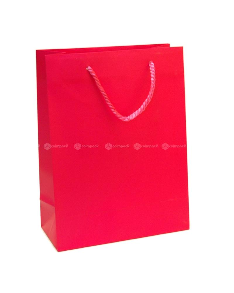 Saco Asa Cordão Shopping Fuxia - Fuxia - 22+10x29 - SC3064