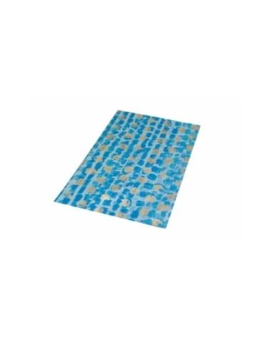 Saco c/ Pala Polipropileno Azul/Dourado 25x40cm - Azul/Dourado - 25x40cm - SC2415