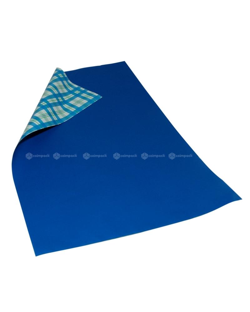 Saco com Pala Polipropileno Provence Double Azul - Azul - 25x40 - SC3071
