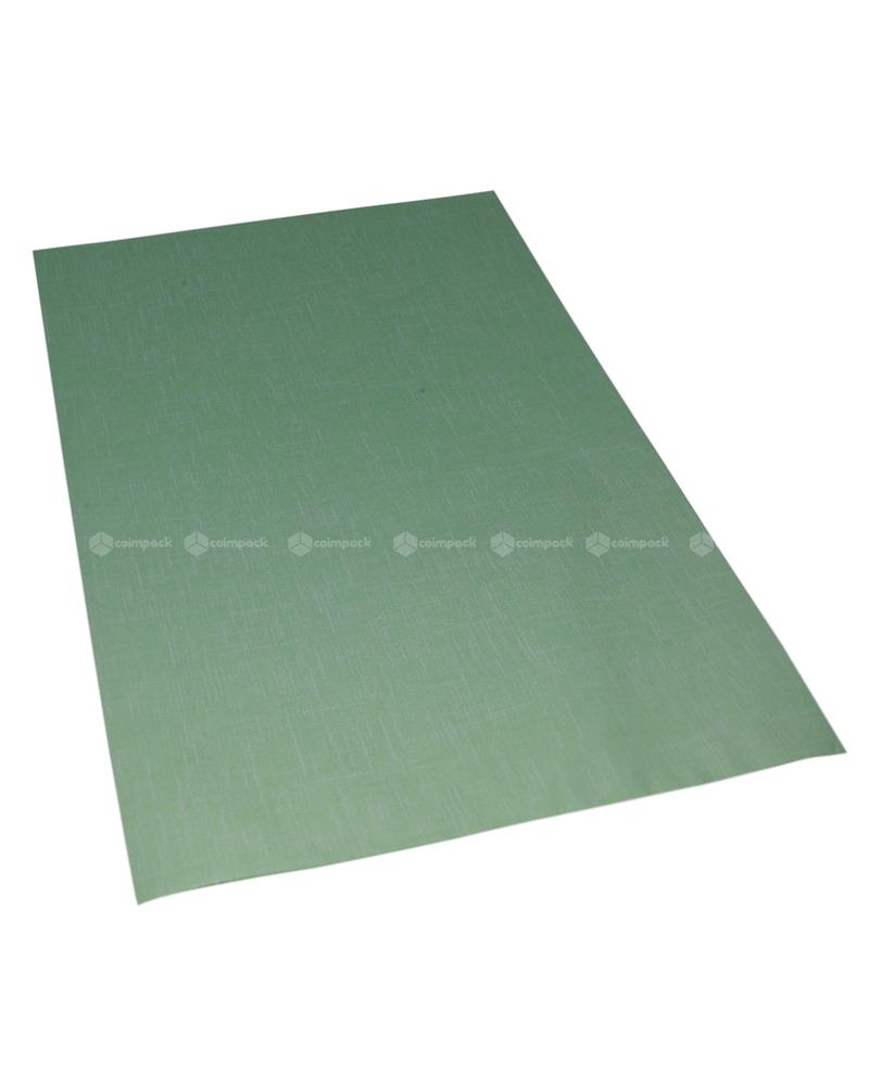 Saco com Pala Polipropileno Tissu Verde - Verde - 25x40cm - SC3077
