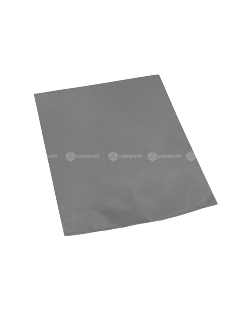Saco c/ Pala Metalizado Fundo Prateado - Prateado - 12x17.5 - SC3091