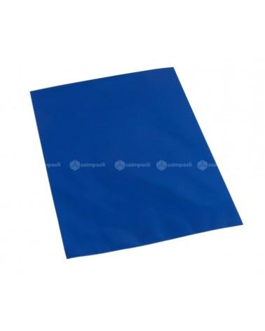 Saco c/ Pala Metalizado Fundo Azul - Azul - 12x17.5 - SC3099