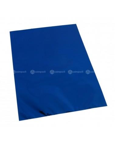 Saco c/ Pala Metalizado Fundo Azul - Azul - 16x25 - SC3100