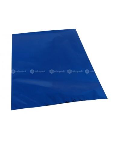 Saco c/ Pala Metalizado Fundo Azul - Azul - 25x40 - SC3101