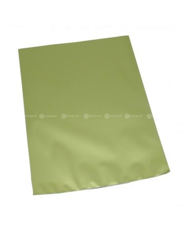 Saco com Pala Polipropileno Tissu Verde - Verde - 16x25cm - SC3074