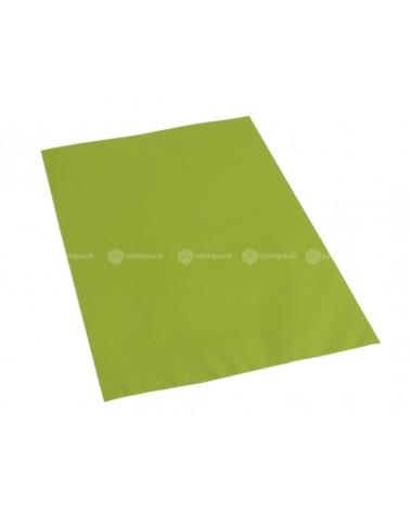 Saco c/ Pala Metalizado Mate Fundo Verde Claro - Verde - 16x25 - SC3133