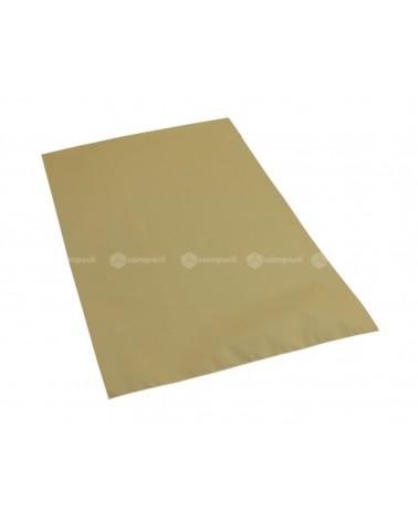 Saco c/ Pala Metalizado Mate Fundo Dourado - Dourado - 25x40 - SC3139