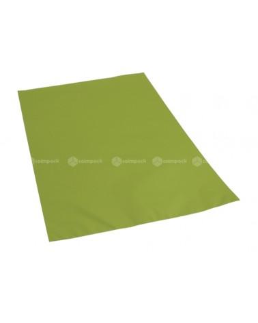 Saco c/ Pala Metalizado Mate Fundo Verde Claro - Verde - 25x40 - SC3143