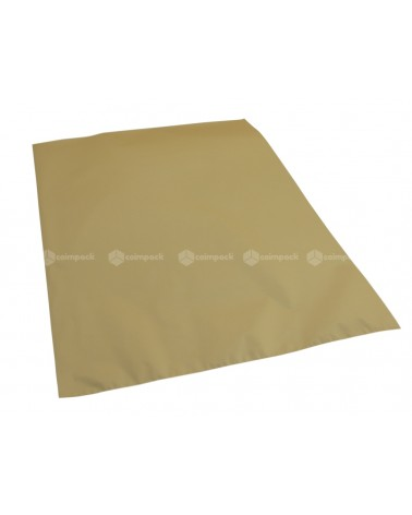 Saco c/ Pala Metalizado Mate Fundo Dourado - Dourado - 35x50 - SC3149