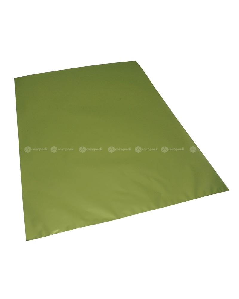 Saco c/ Pala Metalizado Mate Fundo Verde Claro 35x50 - Verde - 35x50 - SC3153
