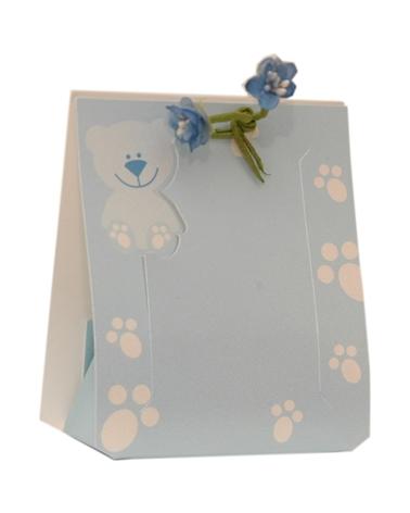 Caixa Baby Boy Cornicetta - Azul - 65x40x95mm - CX3519