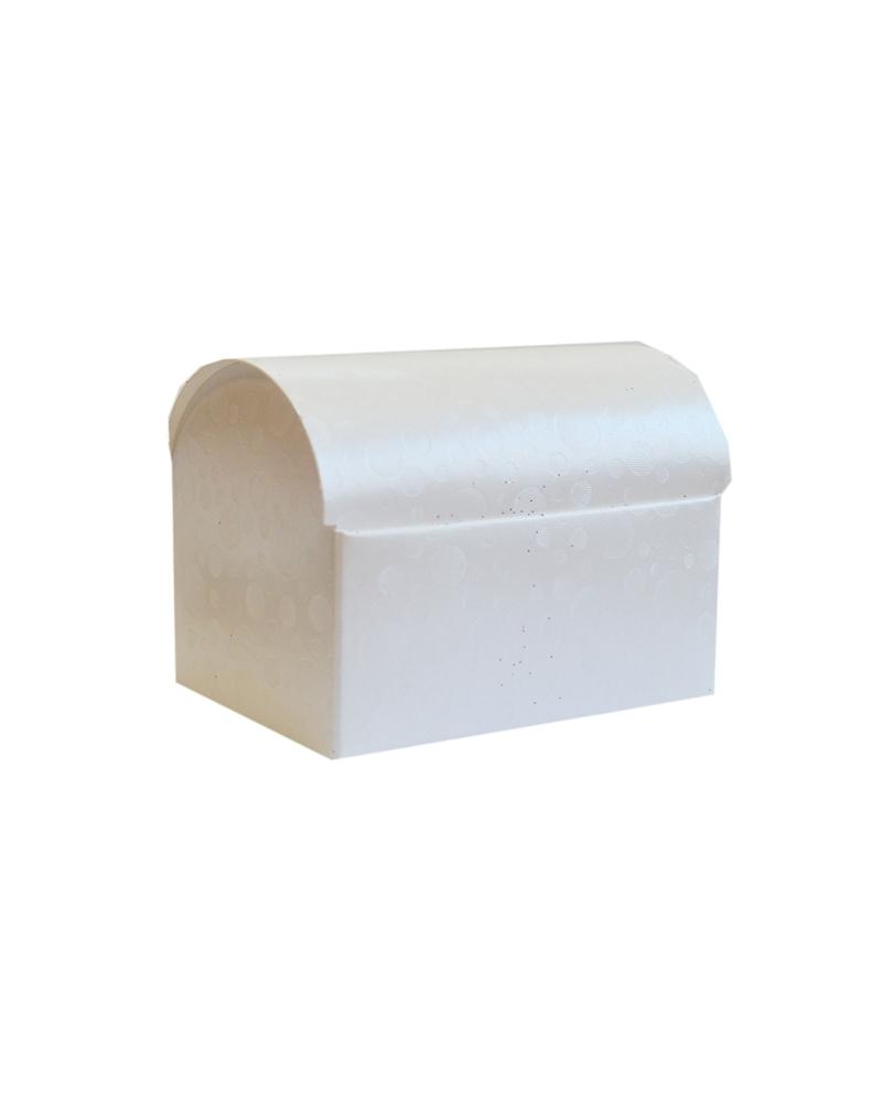 Caixa Sfere Bianco Cofanetto - Branco - 100X70X75mm - CX3567