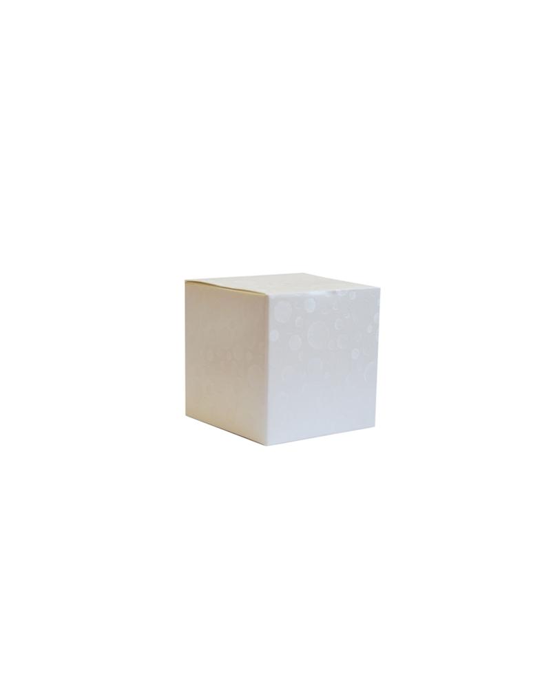 Caixa Sfere Bianco Pieghevole - Branco - 60x60x60mm - CX3573