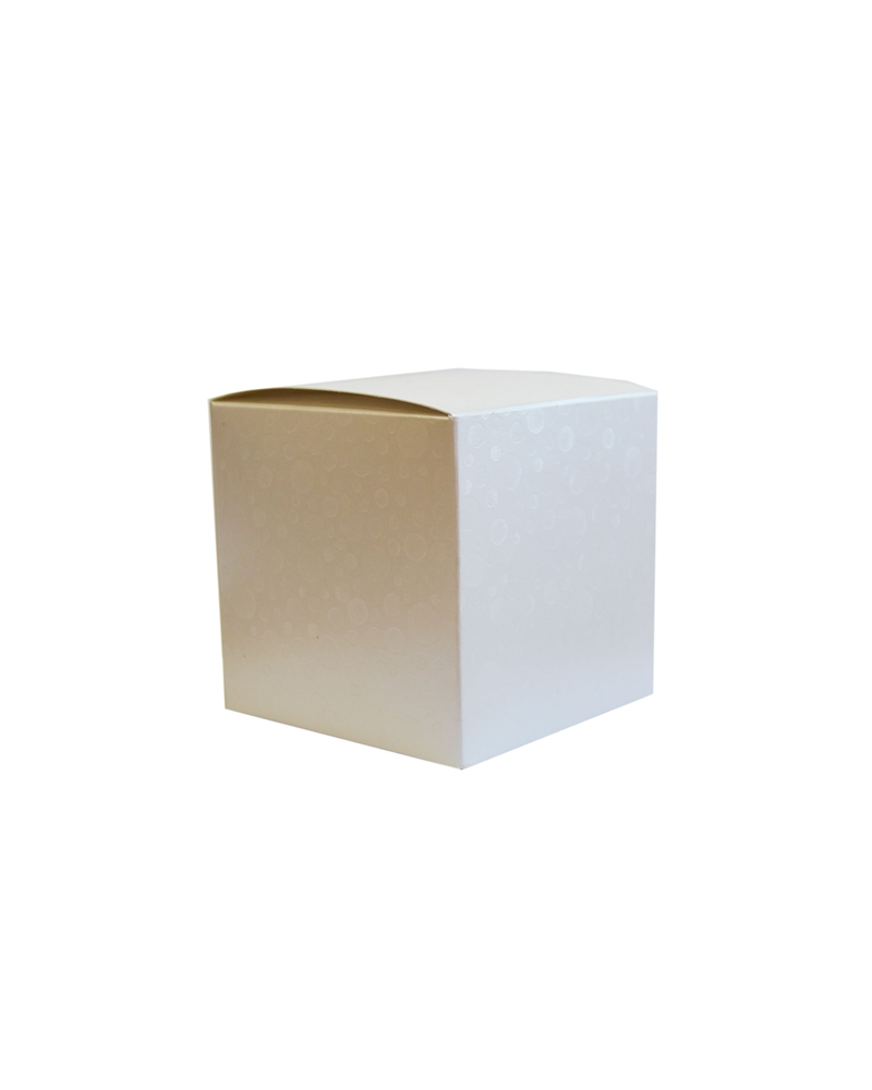 Caixa Sfere Bianco Pieghevole - Branco - 100x100x100mm - CX3574