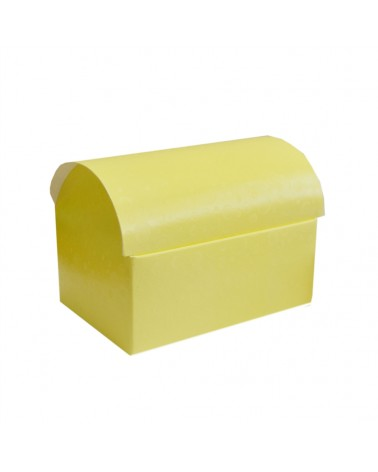 Caixa Sfere Giallo Cofanetto 130x90x95 - Amarelo - 130x90x95mm - CX3581