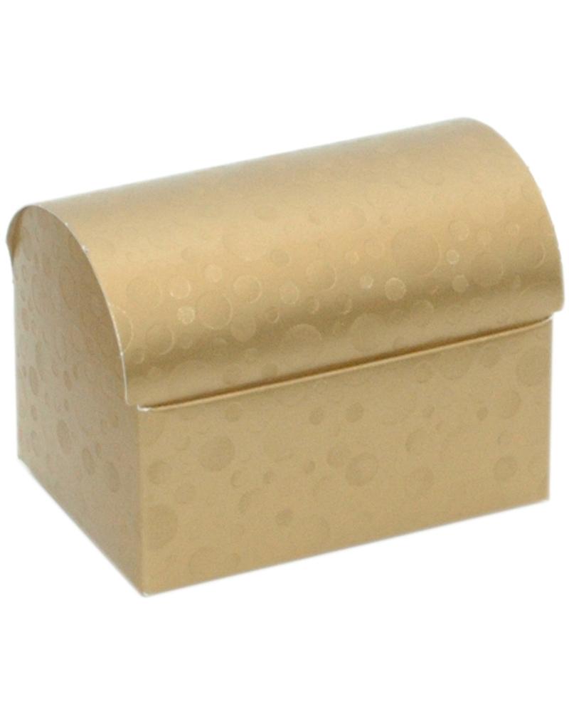 Caixa Sfere Oro Cofanetto 100x70x75 - Dourado - 100X70X75mm - CX3609