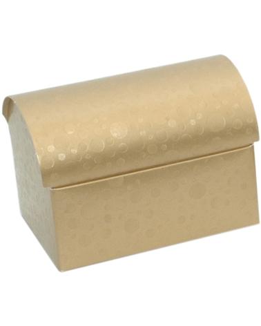Caixa Sfere Oro Cofanetto 130x90x95 - Dourado - 130x90x95mm - CX3610